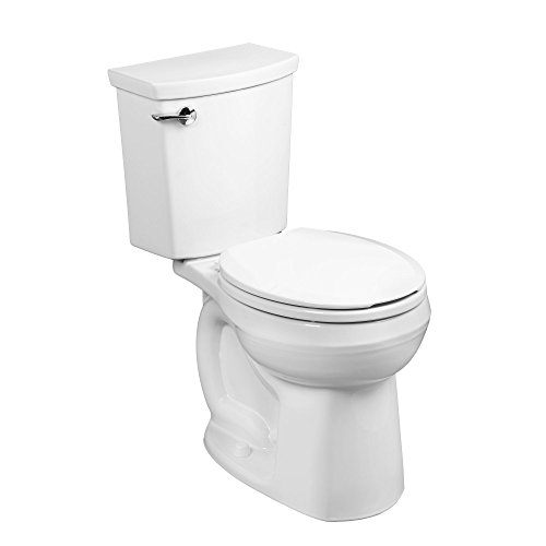American Standard 288DA114.020 H2Optimum Siphonic Normal Height Round Front Toilet, White2-Piece