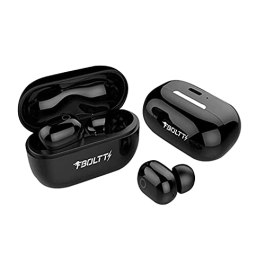Fire-Boltt Buds BE1400 Truly Wireless Bluetooth in Ear Earbuds with Mic (Black)