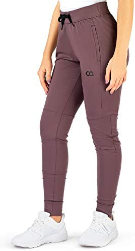 Contour Athletics Hydrafit Joggers for Women, Sweatpants for Women Yoga Pants with Zipper Pockets 4