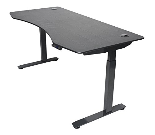 "ApexDesk Elite Series 60"" W Electric Height Adjustable Standing Desk"
