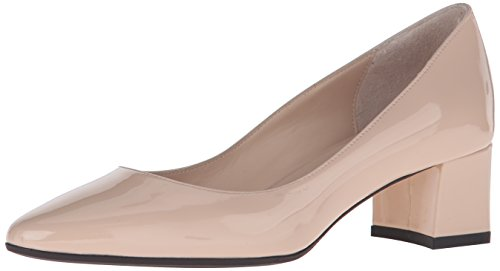 31RnqlYnMgL Recommend ordering 1/2 size down 1.6 inch (40mm) covered block heel