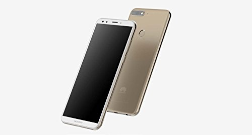 "Huawei Y7 2018 LDN-LX3 5.99"" Qualcomm Snapdragon 16GB 2GB RAM DUAL SIM A-GPS Fingerprint Factory Unlocked No Warranty US (Gold)"