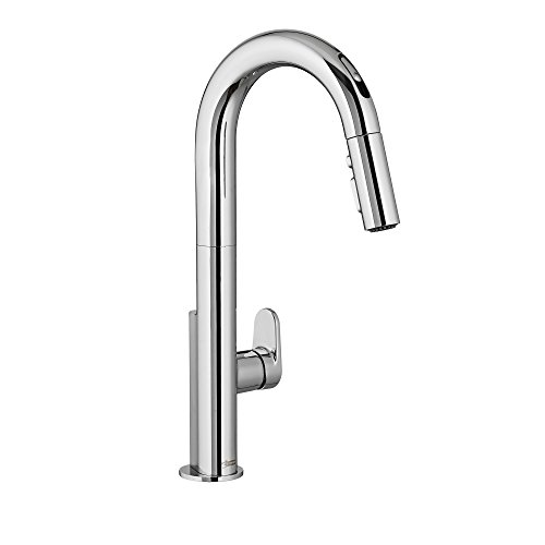 american standard 4931380002 beale single handle pull down kitchen faucet with selectronic hands free - American Standard Kitchen Faucets