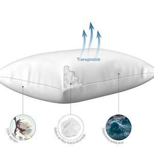 Almohadas de fibra antiácaros