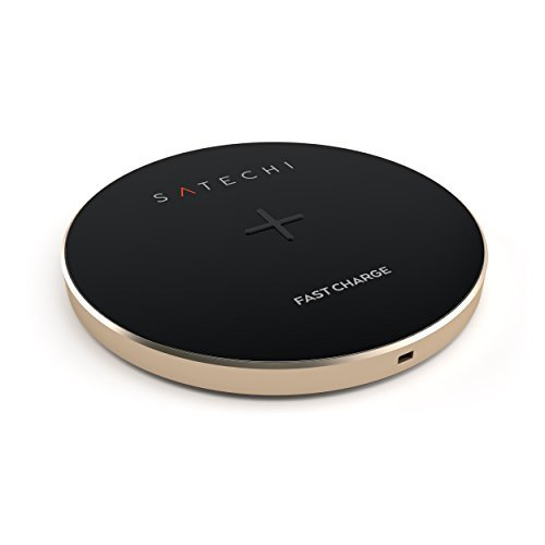 أفضل شاحن لاسلكي: Satechi Fast Wireless Charger من افضل اكسسوارات جوالات