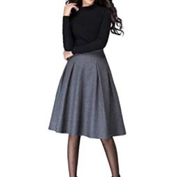 HRJ CREATION Two Piece Western Dress Full Sleeve T Shirt and Mini Skirt for Girls and Women