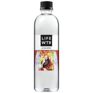 LIFEWTR Premium Purified Water, 16.9 Fl Oz (Pack of 12)