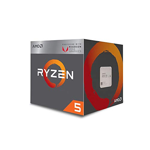 AMD Ryzen 5 3400G 4-core,...
