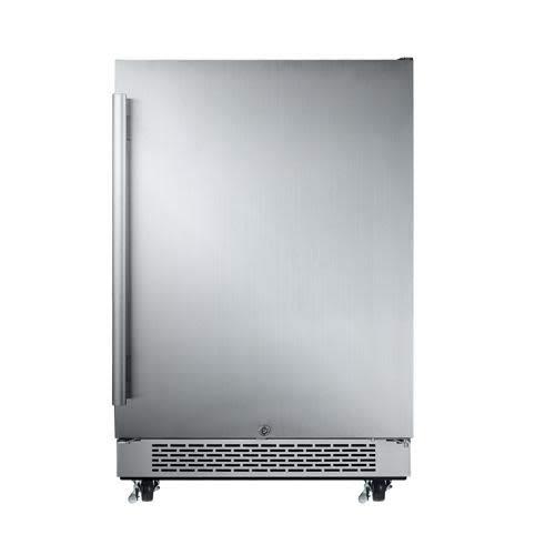 Avallon AFR241SSODRH 5.5 Cu Ft 24' Outdoor Built-in Refrigerator - Right Hinge