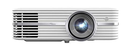 Optoma UHD50 True 4K Ultra High Definition DLP Home Theater Projector for Entertainment and Movies with Dual HDMI 2.0 and HDR Technology (Renewed)