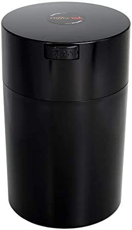 Coffeevac 1 lb – The Ultimate Vacuum Sealed Coffee Container, Black