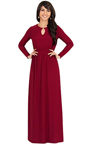 61z2HD3HnBL PLUS SIZE - This great maxi dress design is also available in plus sizes STYLE - Comfortable and well-fitted long sleeved maxi dresses that can be dressed up or down to suit your mood OCCASION - Perfect casual maxi dresses with sleeves or understated chic long sleeved gowns