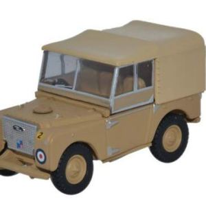 Oxford 1:76 Land Rover Series 1 Canvas – 34th Light AA Reg RAF Firdan 31TV42u5RPL