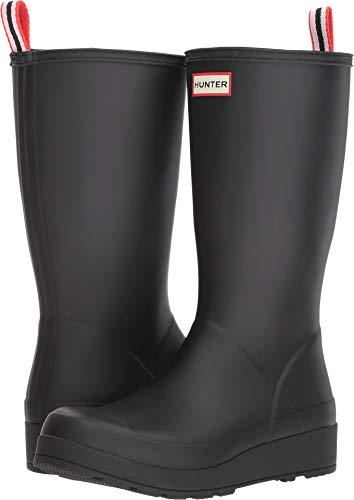 Hunter Women's Original Play Boot Tall Rain Boots Black 9 M US M