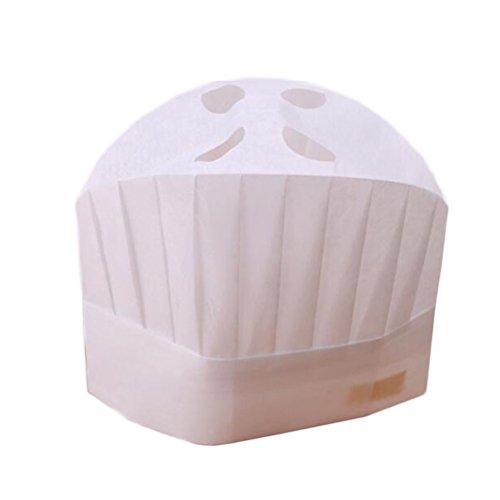 Cappello da cucina monouso 10 pezzi