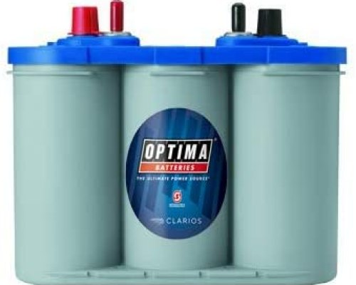 Optima Batteries 8016-103 D34M BlueTop Starting Deep Cycle Battery