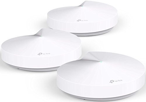 TP-Link Deco Whole Home Mesh WiFi System (3-Pack) - Replace WiFi Router and Range Extenders, Simple Setup, Works with Amazon Alexa, Up to 4,500 sq. ft. Coverage (M5)