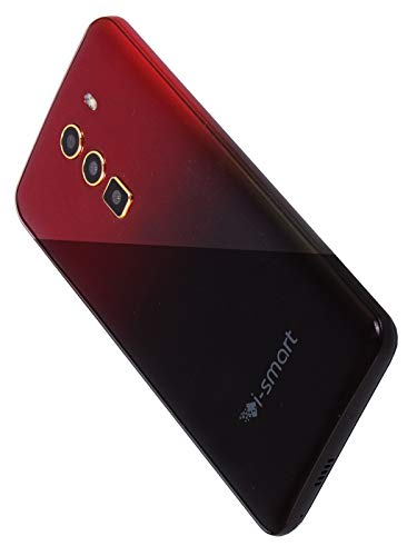 31V1ekMJT L - Xifo Ismart I1 Epic 4G Volte 5.5 Inch Display 4G Smartphone (2GB RAM, 16GB Storage) in Red Black Colour