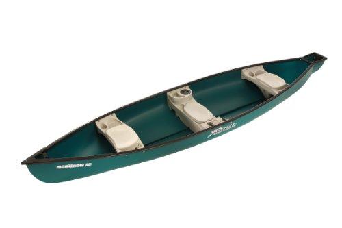 SUNDOLPHIN Sun Dolphin Mackinaw SS Canoe (Green, 15'6')