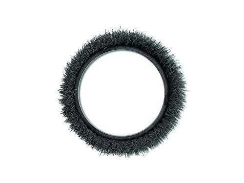 Oreck Commercial 237049 Nylon Carpet Shampoo Orbiter Brush, 12' Diameter, 0.012' Bristle Diameter, Black, For ORB550MC Orbiter Floor Machine