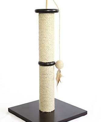 Amazon Basics Cat Scratching Post with Toy
