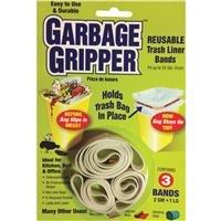 3pk Garbage Gripper Band