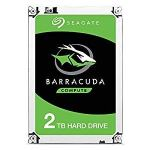 Seagate BarraCuda 2TB Internal Hard Drive HDD – 3.5 Inch SATA 6Gb/s 7200 RPM 256MB Cache 3.5-Inch – Frustration Free…
