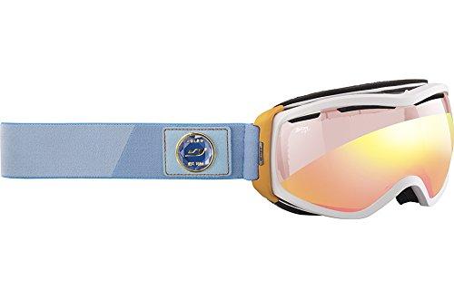 Julbo Elara Snow Goggles - Zebra Light - White/Orange/Turq.
