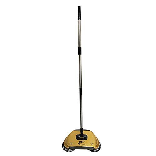 Easy EDGE Lightweight Hardwood Floors Sweeper Metallic Gold