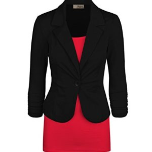HyBrid & Company Womens Casual Work Office Blazer Jacket Made in USA 10 Fashion Online Shop Gifts for her Gifts for him womens full figure