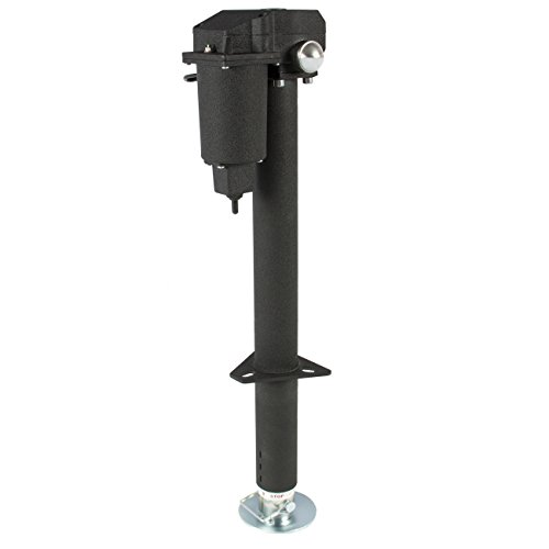 Best Choice Products 12V 3500lb Steel Electric Power Trailer Tongue Jack for RV, Boat, Jet Ski, A-Frame Camper- Black