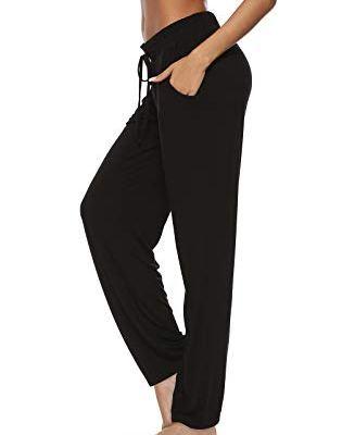 Wide leg yoga pants outfit
