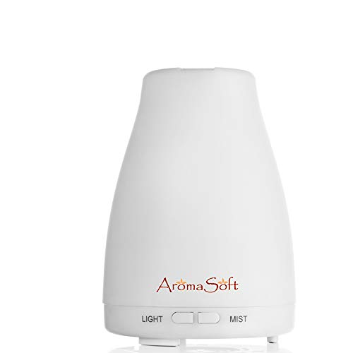 Lifetime Warranty Essential Oil Aromatherapy Diffuser   Natural Ultrasonic Cool Mist Diffusion for All Your Aroma Oils-Easy to Use for A Healthier You-Portable-Create Your Own Home Spa-Auto Shut-Off