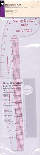 1 Pack Dritz Styling Design Ruler (Parent)