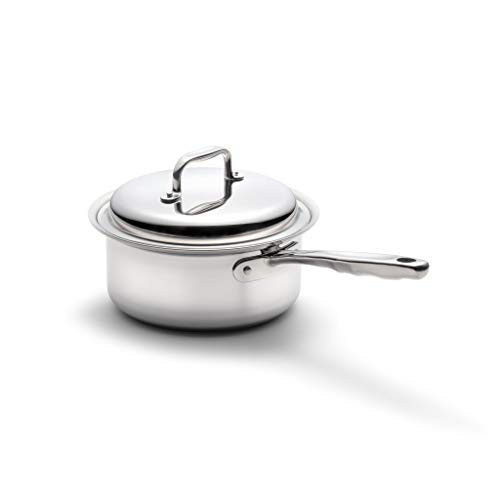 360-Stainless-Steel-Sauce-Pan-with-Lid-Handcrafted-in-the-USA-Surgical-Grade-Stainless-Steel-Saucepan-Induction-Cookware-Waterless-Cookware-Dishwasher-Safe-Oven-Safe-Professional-Grade-3-Quart