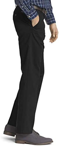 IZOD Men's American Chino Flat Front Straight Fit Pant 3