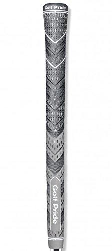 Golf Pride MCC Plus4 New Decade MultiCompound Golf Grip, Standard, Gray