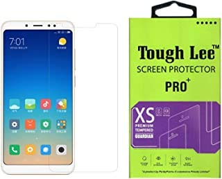 Tough Lee Tempered Glass Screen Guard Gorilla Protector for Mi Redmi Note 5 Pro with Easy Installation Kit (Full Screen Coverage Except Edges - 11D Original Temper) (Transparent) (Pack of 1) 51