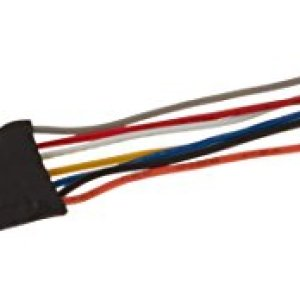 Bachmann E-Z Command DCC Decoder with Wire Harness, 9.5mm x 25mm x 5mm (Programming on The Main, Lights, Dimming) 1/card 31YRgGnJbFL