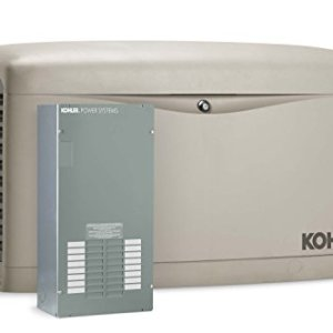 Kohler Air-Cooled Standby Generator with Automatic Transfer Switch Single Phase, 20,000-Watt