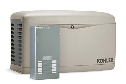 Kohler 14RESAL-100LC16 14,000-Watt Air-Cooled Standby Generator with 100 Amp/16-Circuit Automatic Transfer Switch