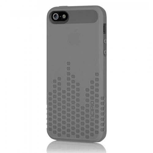 Incipio IPH-804 Frequency for iPhone 5-1 Pack - Retail Packaging - Grey