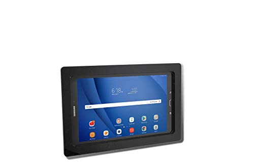 TABcare-Security-Anti-Theft-Acrylic-VESA-Enclosure-for-Samsung-97-Tablet-with-Wall-Mount-Kit-Black-TAB-S2-97