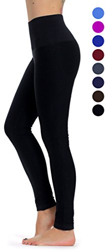 Prolific Health High Compression Women Pants Yoga Fitness Leggings (Small/Medium, Black)