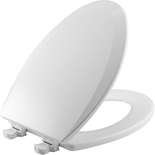 Bemis 1500EC 000 Wood Elongated Toilet Seat With Easy Clean...