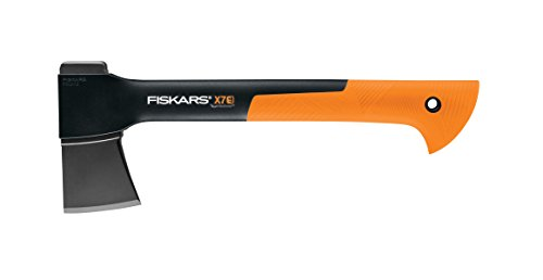 "Fiskars 378501-1002 X7 Hatchet (14""), 14 Inch, Black/Orange"