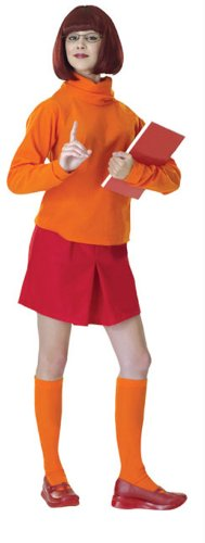 scooby doo costumes velma - Rubie's Costume Scooby Doo Mystery Inc. Velma Costume