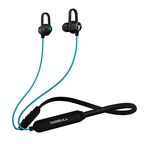 Tarbull-MusicMate-410-Worlds-1st-Bluetooth-Earphones-with-501-Preloaded-Songs-Powered-by-Sony-Music-Upto-35H-Playtime-Fast-Charge-3D-Sound-with-Bass-Booster-Voice-Assist-IPX5-Water-Resistant