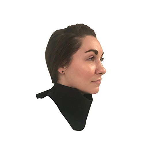 """Thyroid Shield 25"""" ✮ .5mm Protection Collar ✮ Thyroid Collar Protection for Medical, Dental X-Ray and Mammography ✮ Black Rip Stop"""
