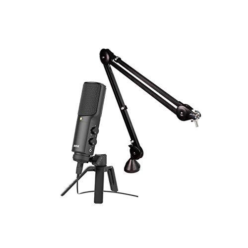Rode-Microphones-NT-USB-Studio-Quality-USB-Microphone-Bundle-with-Rode-PSA-1-Professional-Studio-Boom-Arm